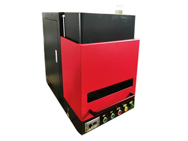 Enclosure fiber laser marking machine