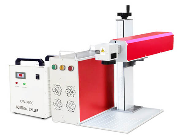 Split UV laser marking machine