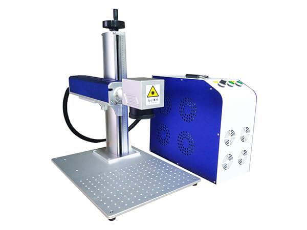 Split fiber laser marking machine