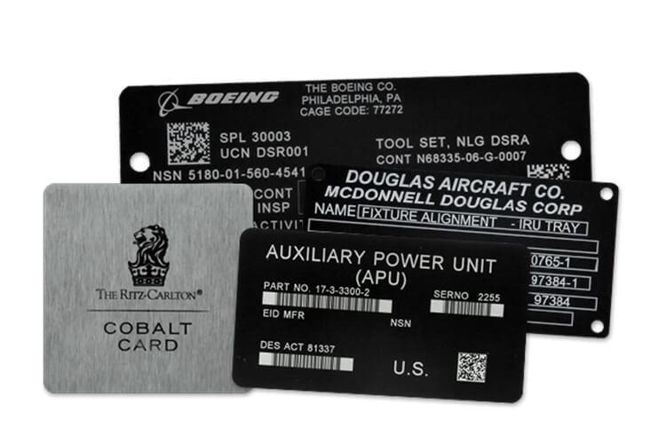 fiber laser marking machine for metal name plate marking
