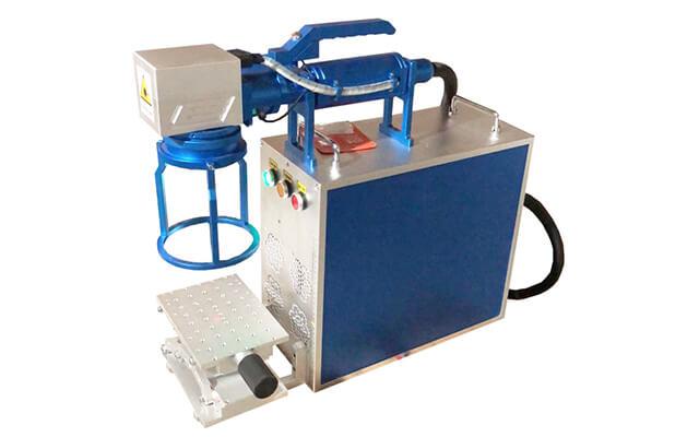 portable handheld fiber laser marking machine