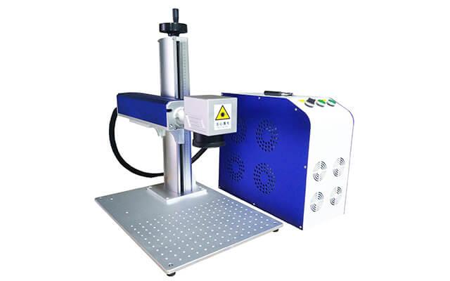 split fiber laser marking machine price
