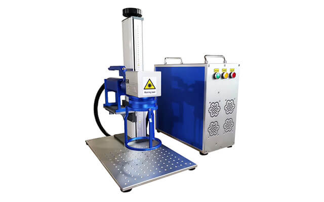 split handheld fiber laser marking machine