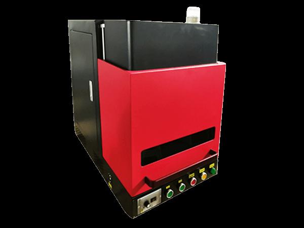Enclosure fiber laser marking machine AT-EF01E