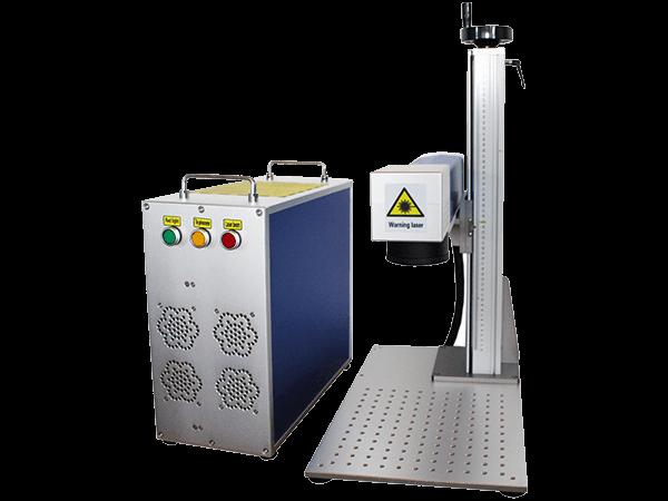 Split co2 laser marking machine AT-STC-1